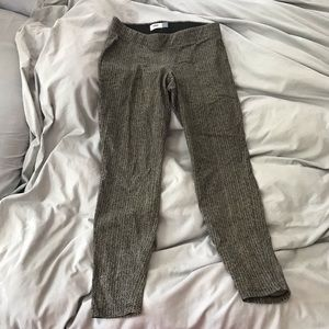 Old Navy herringbone leggings